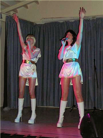 Abba on stage?